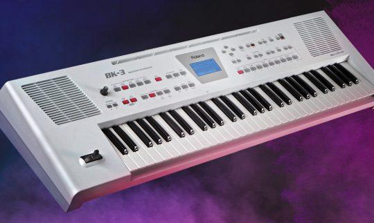 Test: Roland BK-3, Entertainer-Keyboard