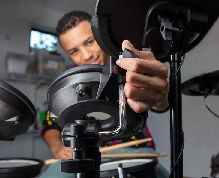 roland td 07 test e-drums