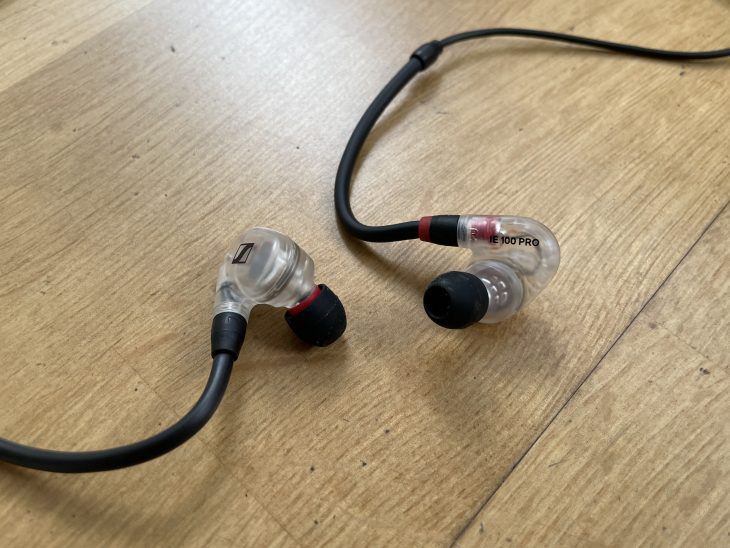 sennheiser ie100 in ear test