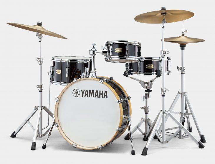yamaha stage custom hip schlagzeug test