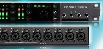 Test: Pro Tools Carbon, Audiointerface mit DSP