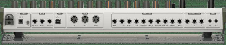behringer rd-9 drum machine roland TR-909