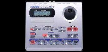 Boss DR-3 Drummachine mit Batteriebetrieb