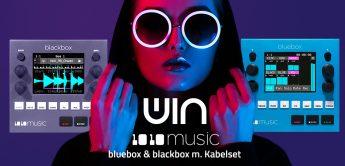 Gewinnspiel: 1010music Bluebox & Blackbox