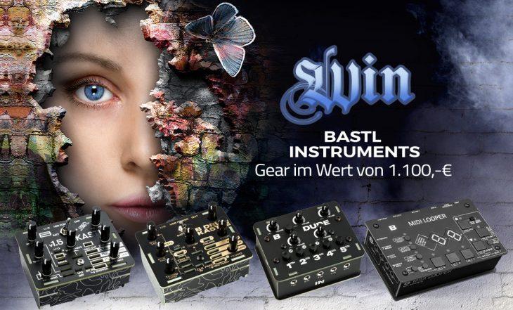 Gewinnspiel: Bastl Instruments je 3x Midilooper & Kastle Drum, Kastle 1.5 & Dude