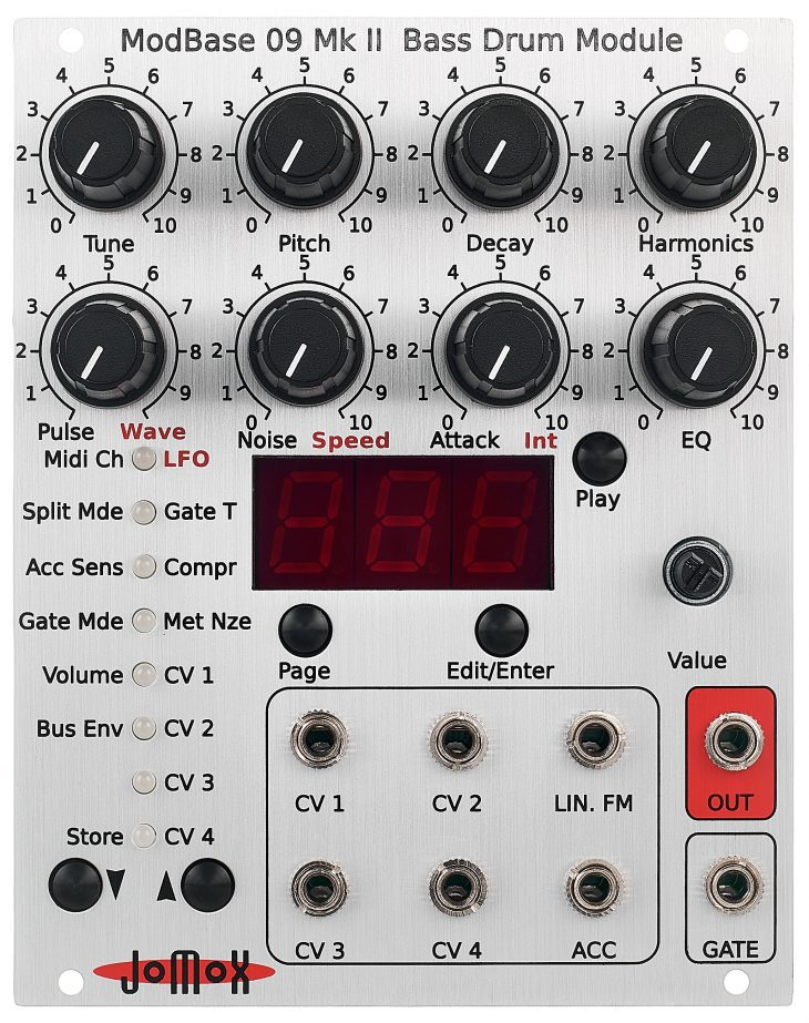 jomox mod base 09 mk2 eurorack test