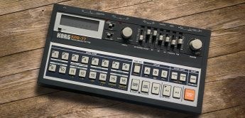 Black Box: Korg KPR-77, Vintage-Drummachine (1983)