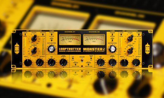 Test: Looptrotter Monster 2 Compressor, 2-Kanal-FET-Kompressor