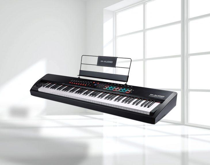 Test: M-Audio Hammer 88 Pro, MIDI-Keyboard