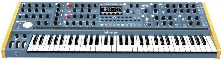 positron 16 synthesizer front