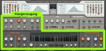Überlegungen zu einem Macro-zentrierten Synthesizer