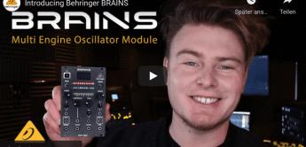 Behringer Brains, Multi-Engine Oszillator Eurorack Modul