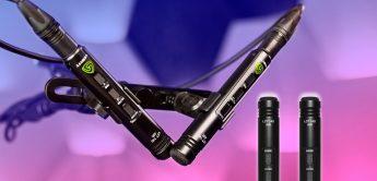 Test: Lewitt LCT 140 AIR Matched Pair, Kleinmembran-Kondensatormikrofone