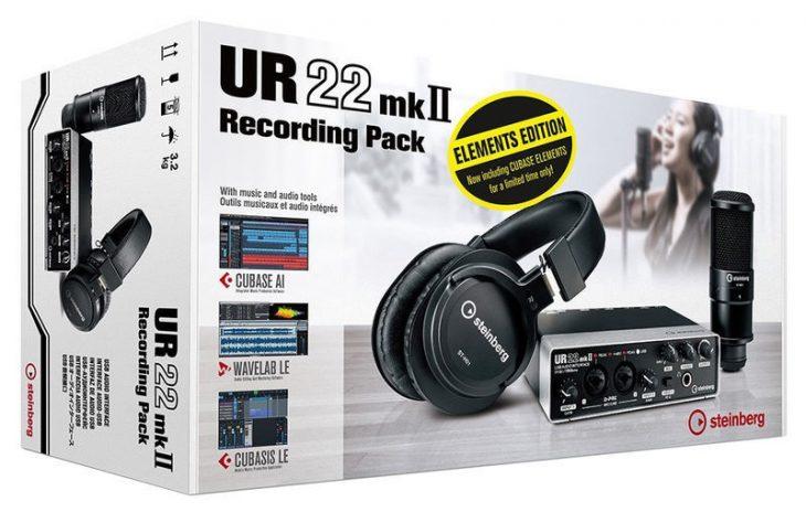 Steinberg UR22 MK2 Recording Pack Elem 1