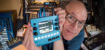1010music bluebox im spontanen Praxiseinsatz
