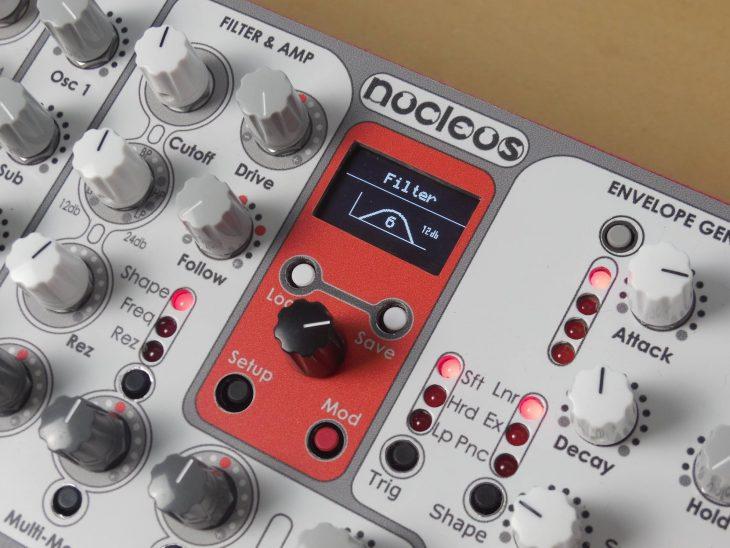 artisan nucleus synthesizer display