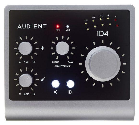 audient id4 id14 mk2 test