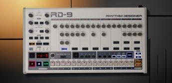 Test: Behringer RD-9 Drumcomputer, Hardware-TR-909 Klon
