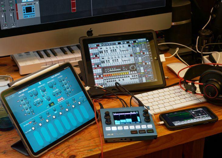 ReBirth of the Rebirth: zwei iPads und ein iPhone an der Bluebox