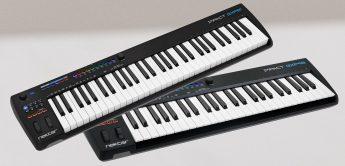 MIDI-Keyboards jetzt auch mit 49/61 Tasten: Nektar Impact GXP49, GXP61
