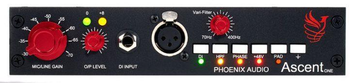 Phoenix Audio Ascent One, Mikrofonvorverstärker & DI-Box