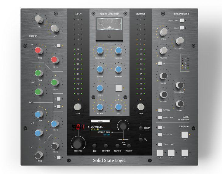 Solid State Logic SSL UC1, Plug-in:DAW-Controller test