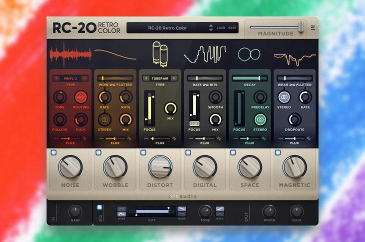 xln audio rc20 plug in test