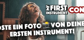 #myfirstinstrument – Thomann Gutschein gewinnen