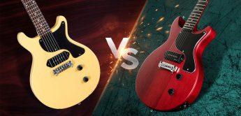 Vergleichstest: Maybach Lester Junior vs. Harley Benton DC Junior, E-Gitarre