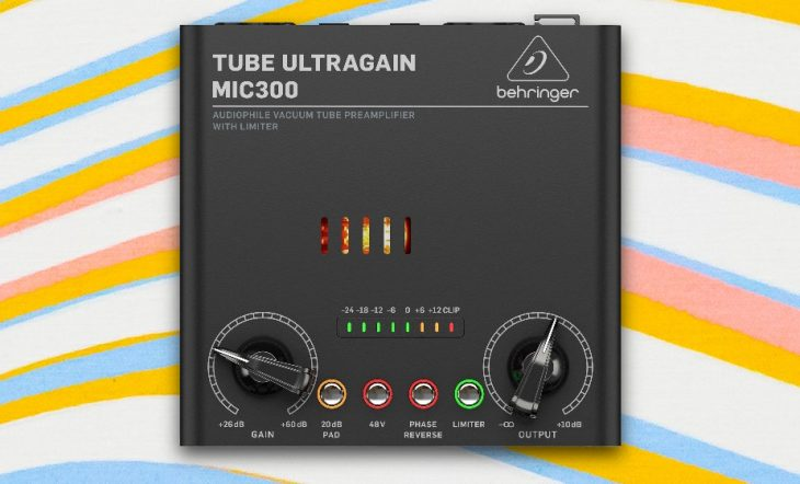 behringer mic300 ultragain test
