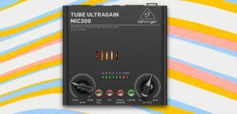 Test: Behringer Tube Ultragain MIC300, 1-Kanal-Röhrenvorverstärker