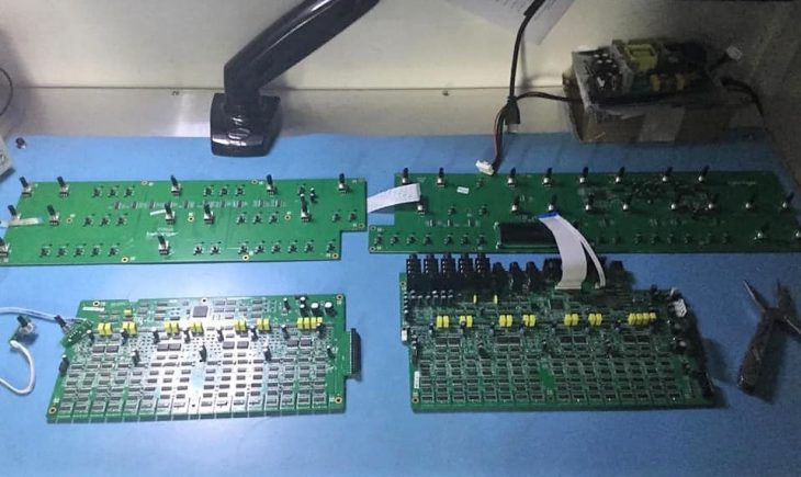 behringer pro-16 synthesizer boards