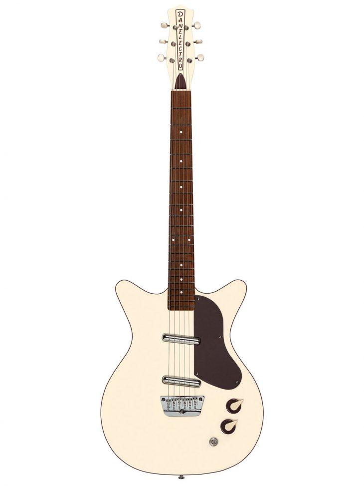 Danelectro '59 Divine Fresh Cream, E-Gitarre