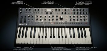 Sequential Take 5, polyphoner Analog-Synthesizer
