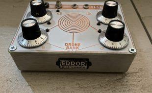 Error instruments Drone Bank