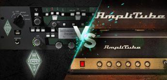 Kemper vs. Amplitube – Digitale Gitarrensounds im Vergleich