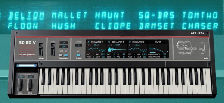 arturia sq80 v synthesizer plugin
