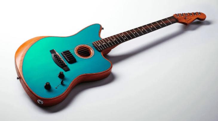 Test: Fender Acoustasonic Jazzmaster Akustikgitarre