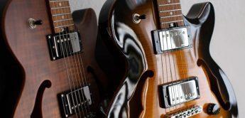 Test: Harley Benton Aeolus Bengal Flame, E-Gitarre