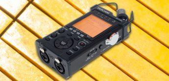 Test: Tascam DR-44WLB, mobiler Digitalrecorder