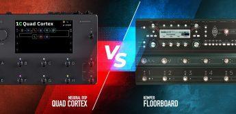 Vergleichstest: Kemper vs. Quad Cortex Audiovergleich