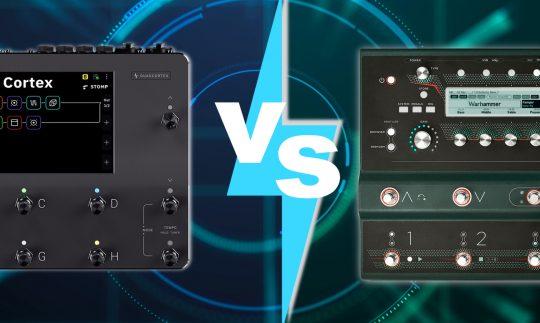 Profiling vs Capturing: Quad Cortex und Kemper Floorboard