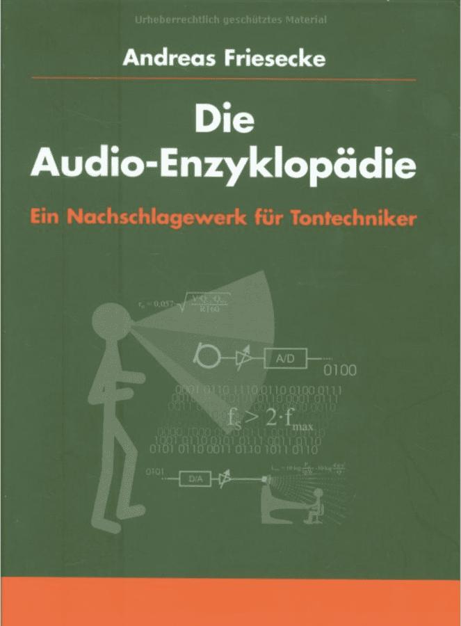"""Book Cover """"Die Audio Enzyklopädie"""""""