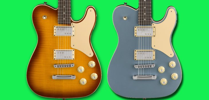 Fender 2018 Limited Edition Troublemaker Tele titel