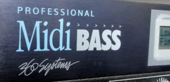 Green Box: 360 Systems Professional Midi Bass, Soundmodul