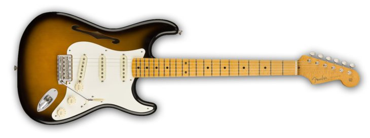 Fender Eric Johnson Thinline Strat sunburst