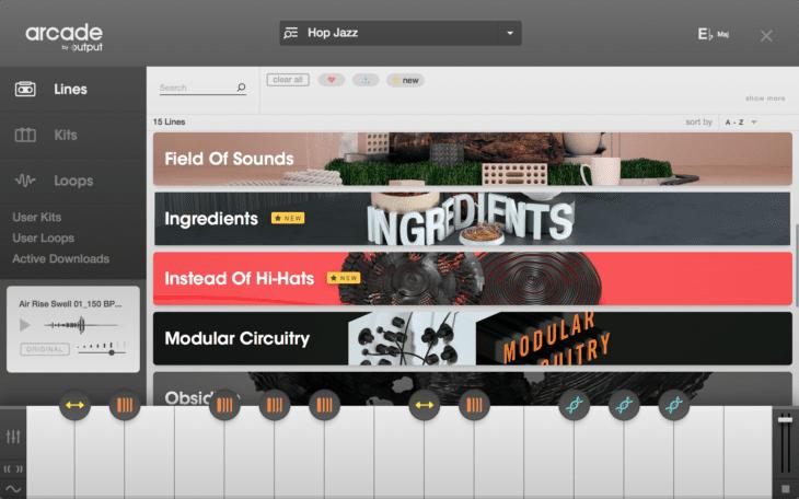 Arcade Browser - Lines