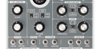 Superbooth 18: ACL Multi Function Discrete VCO, Modul