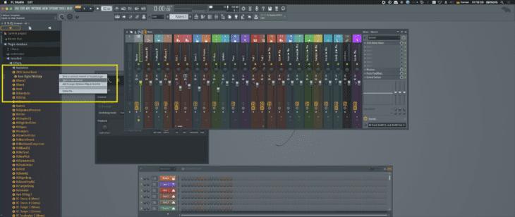 FL Studio - Browser