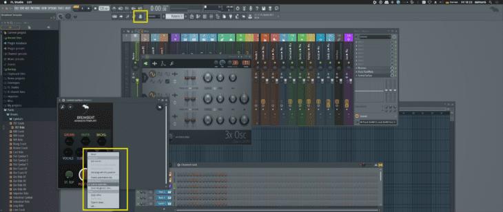 FL Studio - Encoder-Zuweisung